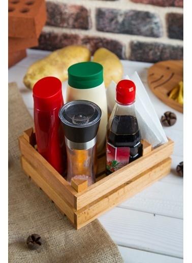 Joy Kitchen  Peçetelikli Sunum Kasası Renkli